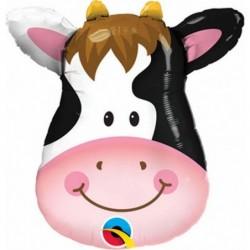Balon foliowy 32 głowa krowy
