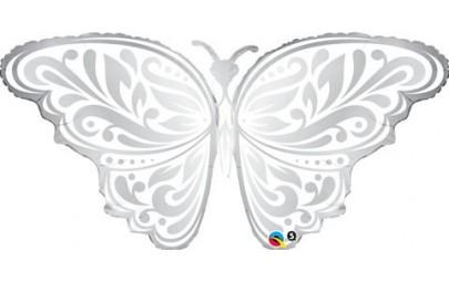 Balon 44 motyl ślubny