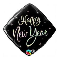 Balon foliowy 18 New Year błyszczący