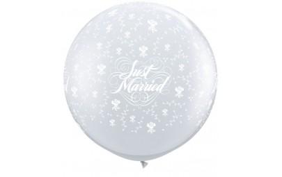 Balon 1M przezroczysty w...