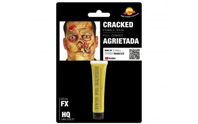 Sztuczna skóra Zombie żółta...