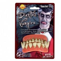 Sztuczna szczęka wampira zęby