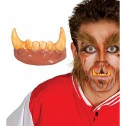 Zęby wilkołaka szczęka...