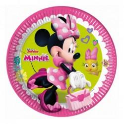 Talerz papierowy Minnie...