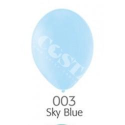 Balon B85 sky blue - błękitny pastel 100 szt.