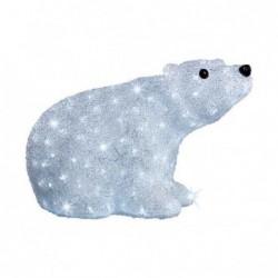 Niedźwiedź akrylowy led