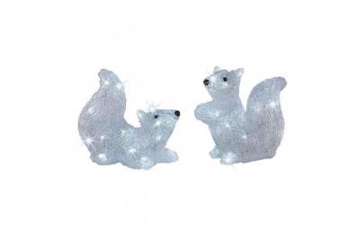 Wiewiórka akrylowa led...
