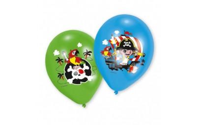 Balon 11 Pirat 6 szt.
