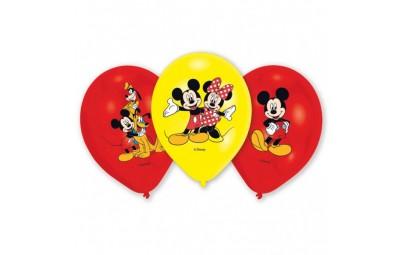 Balon 11 Myszka Mickey 6 szt.