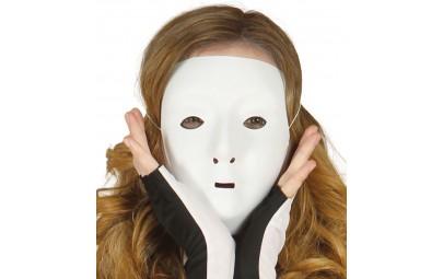 Maska biała plastikowa