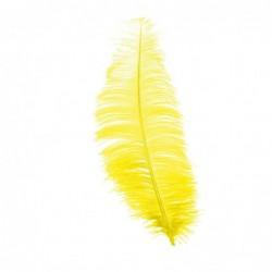 Pawie pióro żółte 30cm