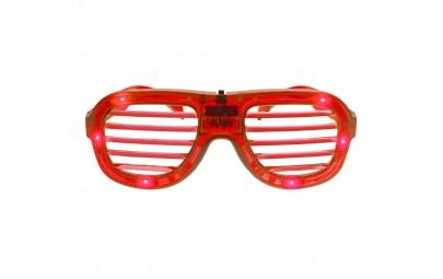 Okulary świecące czerwone