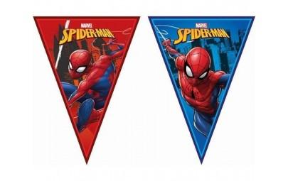 Banner Spiderman Team Up flagi