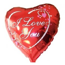 Balon foliowy I Love You...