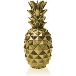Świeca ananas classic złota...