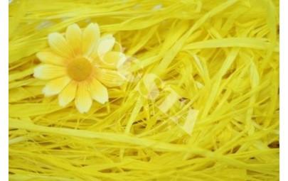 Rafia żółta 100g