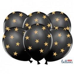 Balon 30cm czarny w...