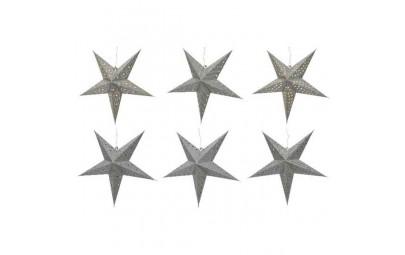 Gwiazda led srebrna...