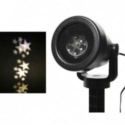 Projektor led zew/wew gwiazdy ciepły biały 15x11x21cm
