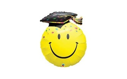 Balon 36 uśmiechnięta twarz