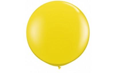 Balon 1M żółty pastelowy 2...