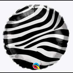 """Balon foliowy 18"""" Zebra..."""
