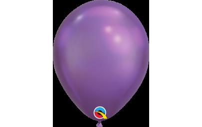 Balon 11 chrome purple -...