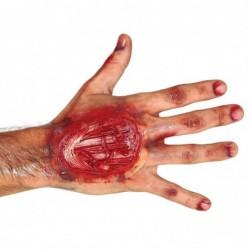 Naklejka rana na rękę 10cm