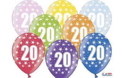 Balon 30cm 20 Birthday...