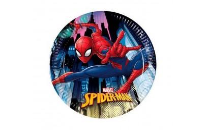 Talerz papierowy Spiderman...
