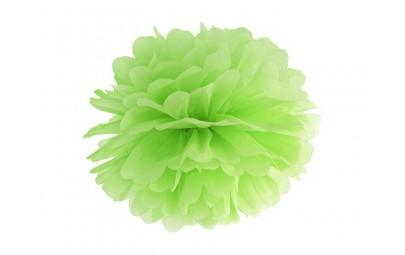 Pompon bibułowy zielone...