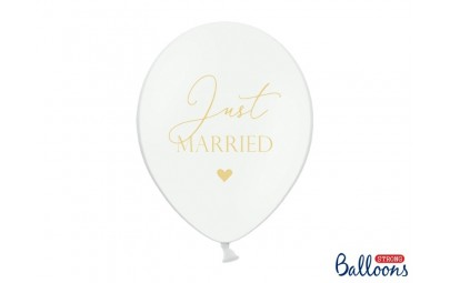 Balony 30cm, Just Married,...