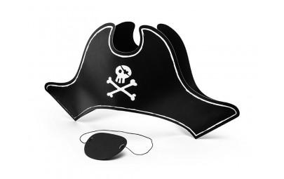 Czapka Pirata z opaską na...