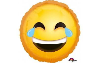 Balon foliowy 17 Emotikon śmiejący się
