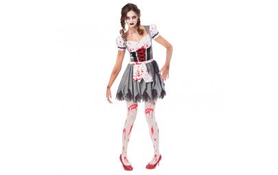 Kostium Miss Oktoberfes Zombi damski roz.L