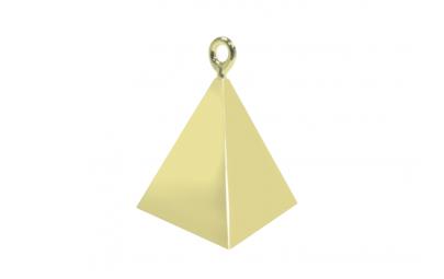 Obciążnik piramida złota 120g