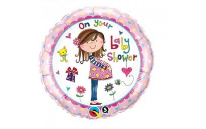 Balon foliowy 18 baby shower