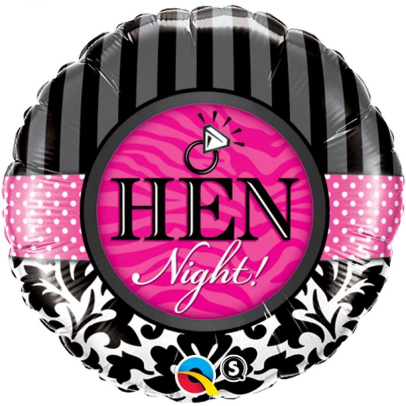 Balon foliowy 18 Hen Night!