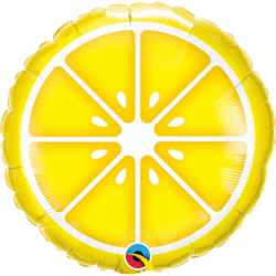 """Balon foliowy 18""""Sliced lemon"""