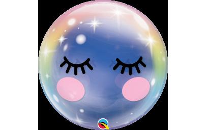 """Balon 22"""" Eyelashes bubble"""