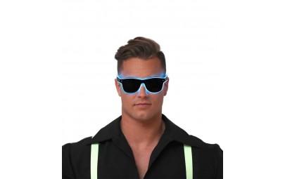 Okulary świecące na niebiesko