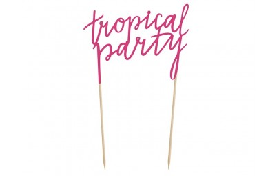 Topper Aloha Tropical Party...