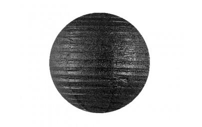Lampion brokatowy czarny 35cm