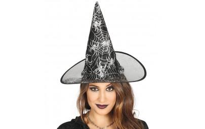 Kapelusz czarownicy czarny...