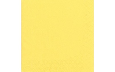 Serwetka z bibuły żółta 3W...