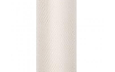Tiul na rolce kremowy 0,3 x 9m
