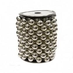 Girlanda plastikowa srebrna 1,4x500cm