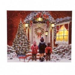 Figura led bożonarodzeniowa 2,3x38x48cm (ciepły biały)