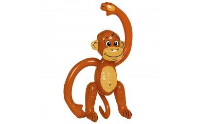 Małpa nadmuchana-dekoracja...