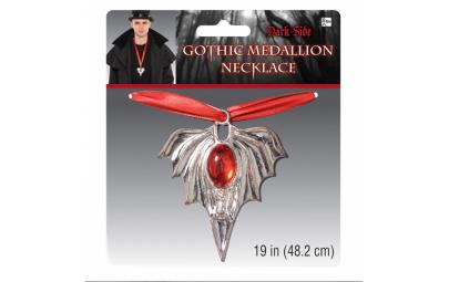 Gotycki Medalion srebrny 48,2cm